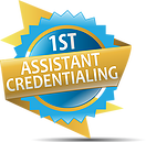 1st Assistant Credentialing logo