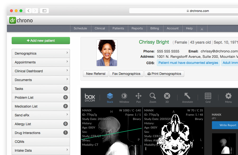 Lab and Imaging Centers can integrate with EHR