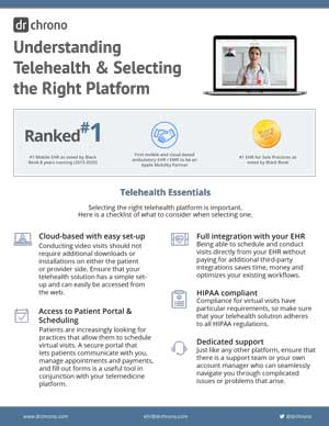 Telehealth one pager