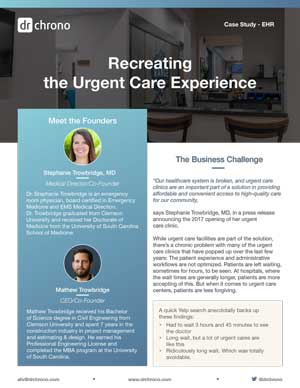 Case Study for Urgent Care