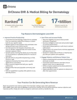 White paper EHR and medical billing for dermatology