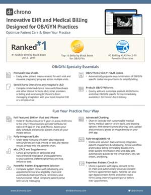 White paper EHR and medical billing for OB/GYN practices