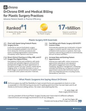 White paper EHR and medical billing for plastic surgery practices
