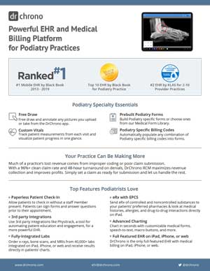 White paper EHR and medical billing for Podiatry