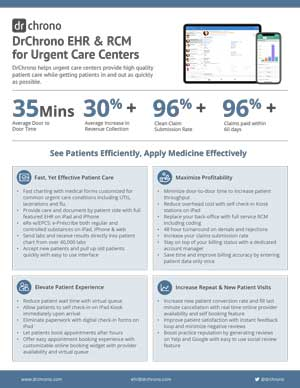 Specialty White paper EHR and RCM in Urgent Care Centers